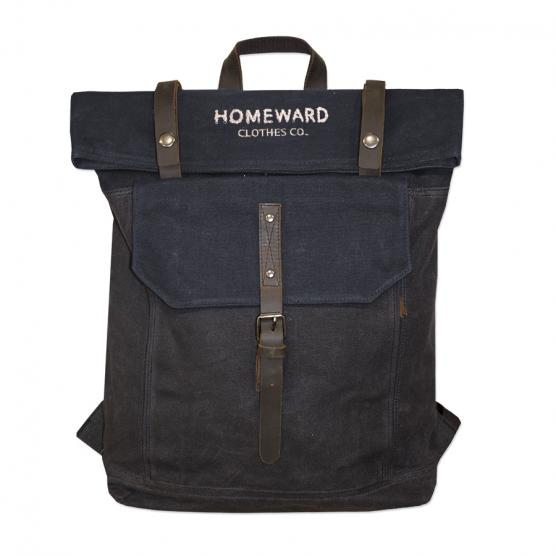 HOMEWARD WAXED CANVAS BACKPACK DGNA