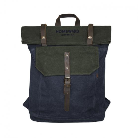 HOMEWARD WAXED CANVAS BACKPACK NAMI