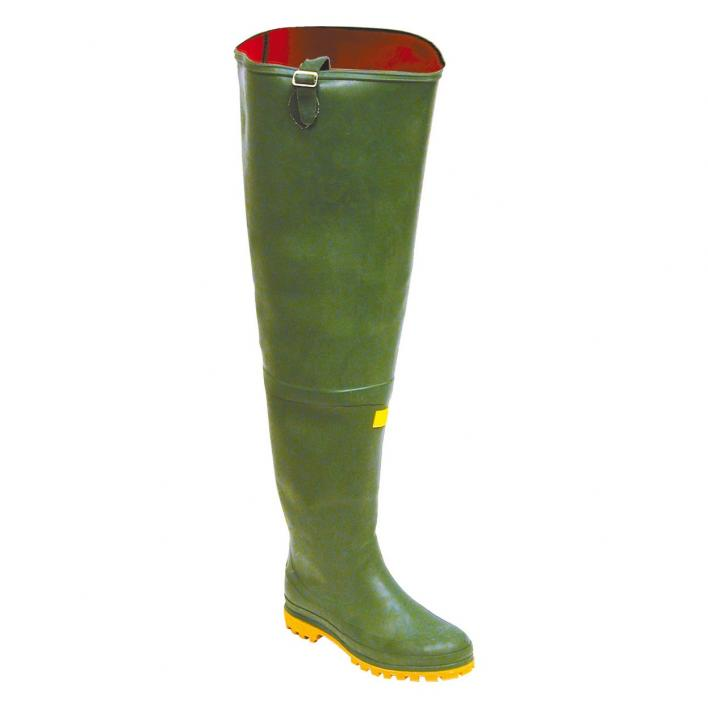 IGNESTI ALL-THIGH RUBBER BOOT WITH NEOPRENE