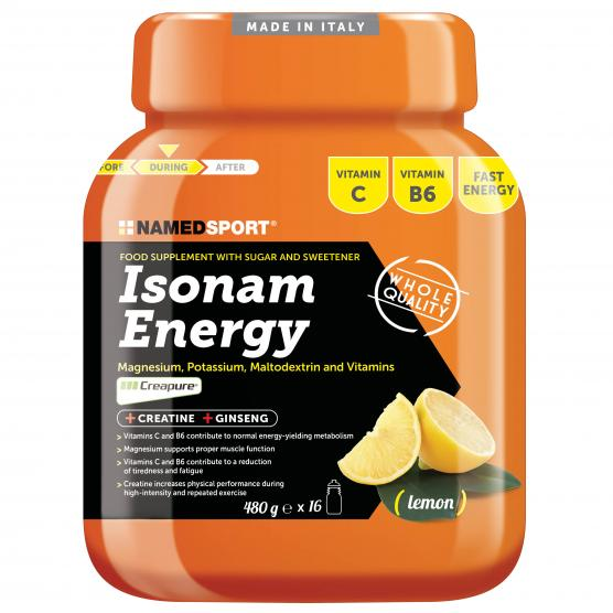 NAMEDSPORT Isonam Energy Lemon 480g
