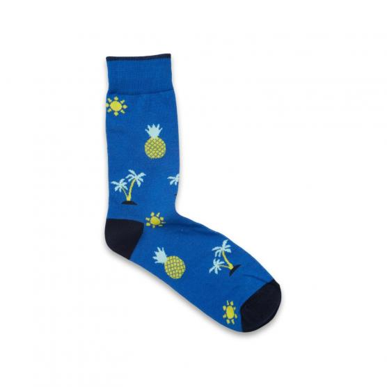 JACK JONES ACKALE SOCKS NAUTICAL BLUE