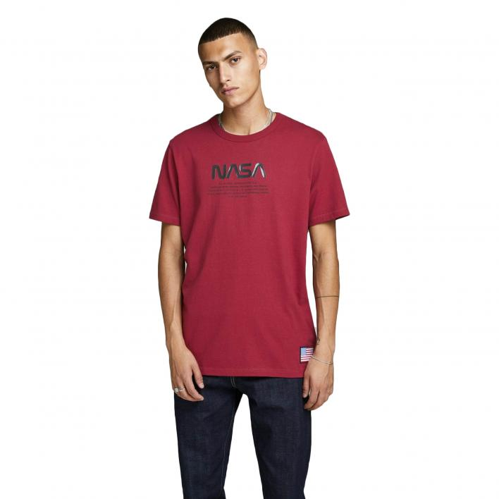 JACK JONES BERKAN TEE SS CREW NECK
