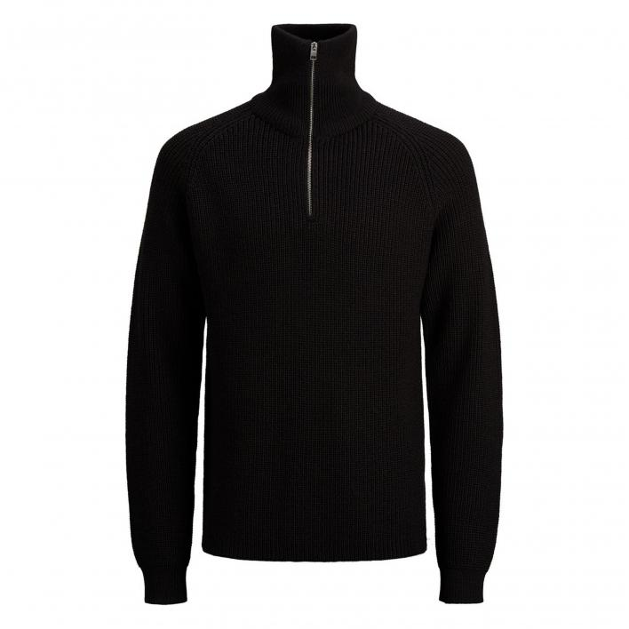 JACK JONES BLAIVY KNIT HALF ZIP