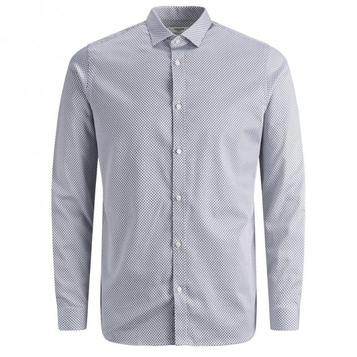 JACK JONES BLAPARMA AOP SHIRT L/S