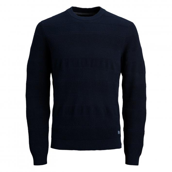JACK JONES BLUSCOTT KNIT CREW NECK