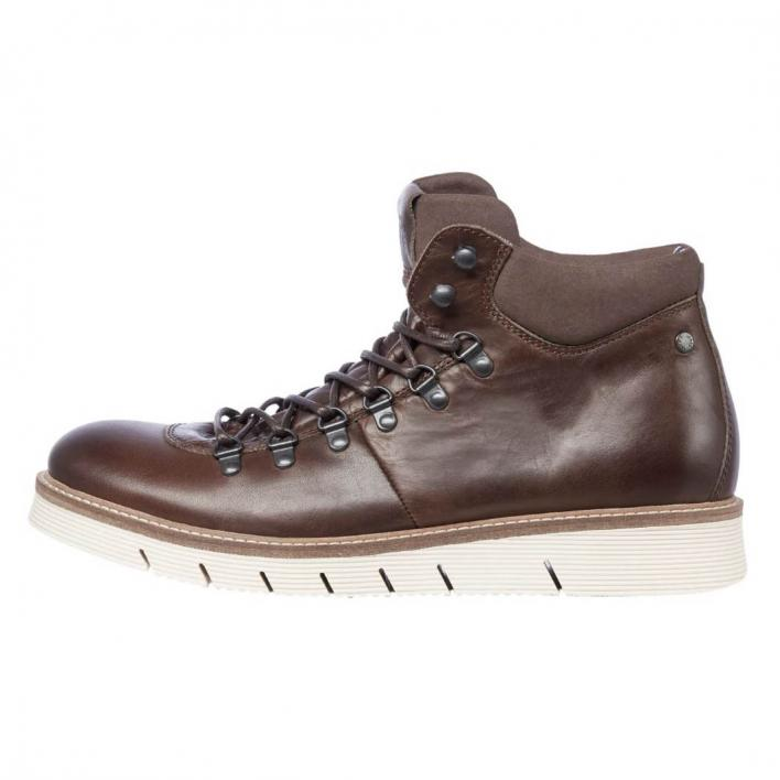 JACK JONES COLUMBUS LEATHER BROWN STONE