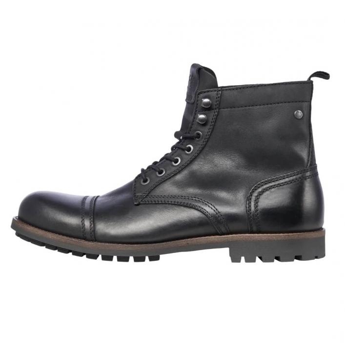 JACK JONES EAGLE LEATHER ANTHRACITE
