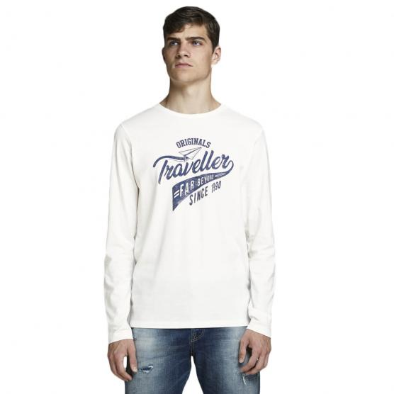 JACK JONES FELTA TEE LS CREW NECK