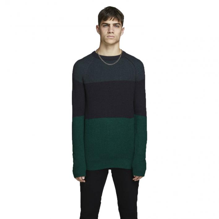JACK JONES FRANKIE KNIT CREW NECK