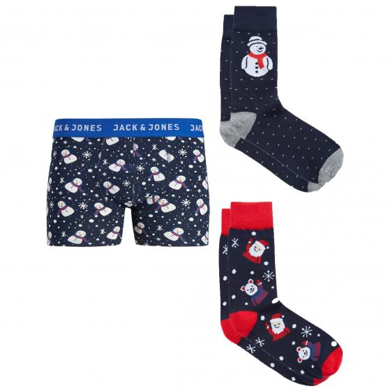 JACK JONES JACGIFTBOX TRUNKS & SOCKS