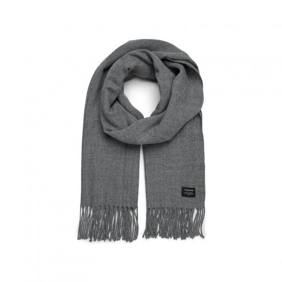 JACK JONES JACSOLID WOVEN SCARF NOOS FOREST NIGHT