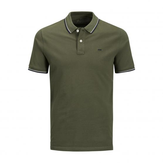 JACK JONES JECONTRAST STRIPE POLO