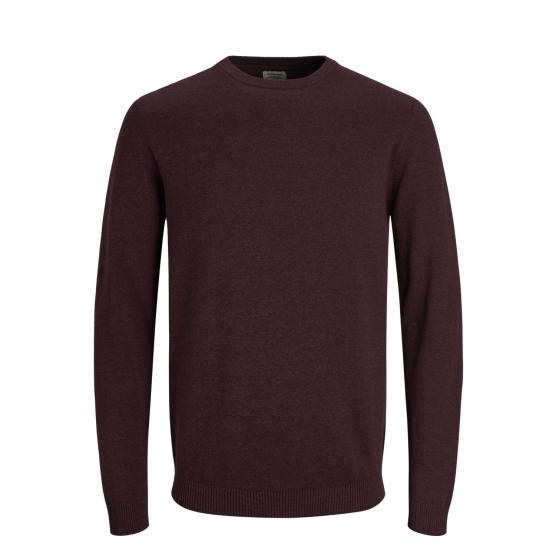 JACK JONES JJEBASIC KNIT CREW NECK NOOS