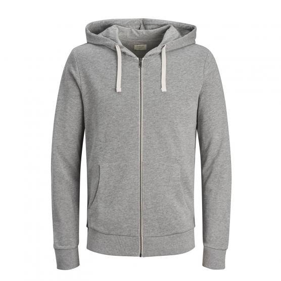 JACK JONES JJEHOLMEN SWEAT ZIP HOOD