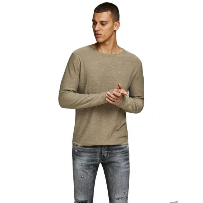 JACK JONES JJESLUB KNIT CREW NECK STS
