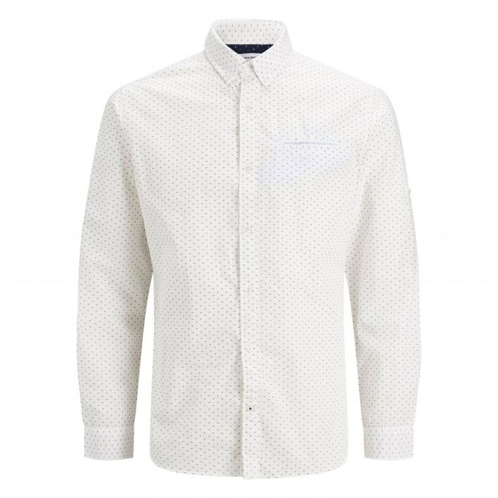 JACK JONES JJETHOMAS DETAIL SHIRT L/S NOOS