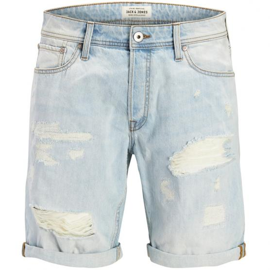 JACK JONES JJIRICK JJORIGINAL SHORTS GE 858 BLUE DENIM