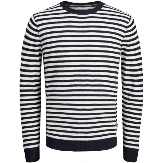 JACK JONES JORBASH KNIT CREW NECK