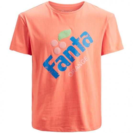 JACK JONES JORFANTA TEE SS CREW NECK