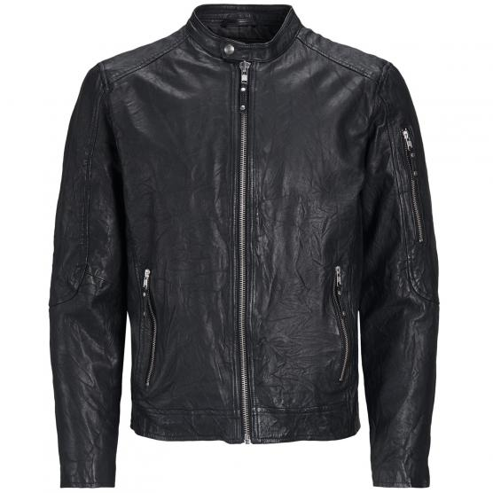 JACK JONES JPRRICHARD CLEAN LEATHER JKT