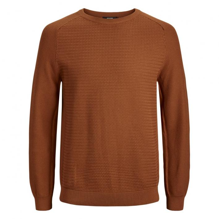 JACK JONES JWHPOST KNIT CREW NECK