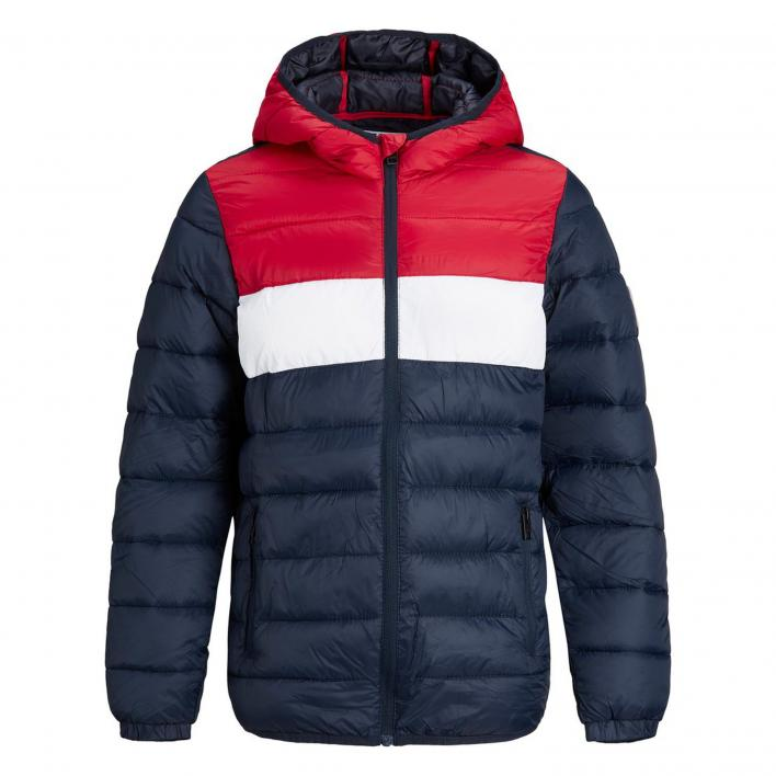 JACK JONES KIDS MAGIC PUFFER HOOD NOOS JR