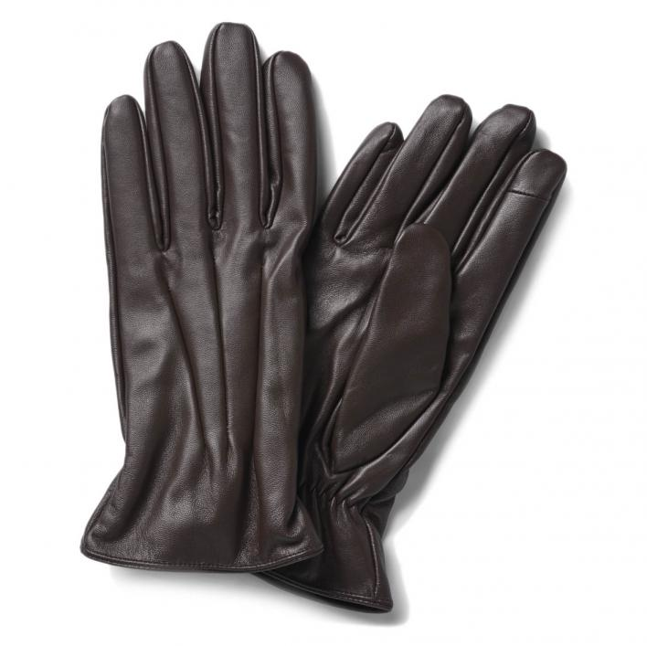 JACK JONES MONTANA LEATHER GLOVES NOOS