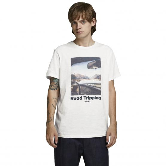 JACK JONES OUTDOORS TEE SS CREW NECK