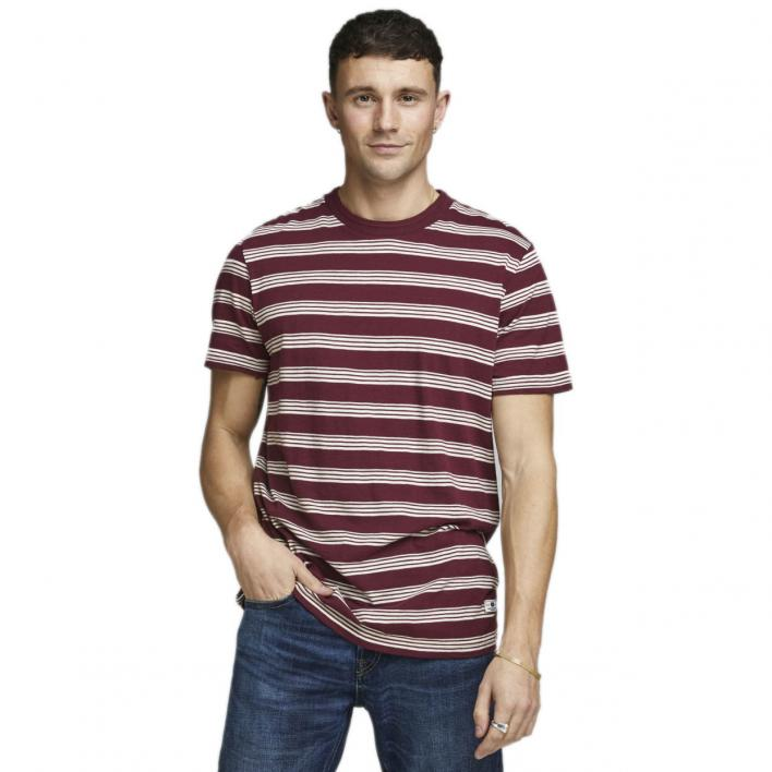 JACK JONES OWEN BLU TEE SS CREW NECK