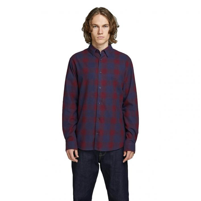 JACK JONES TOMMY SHIRT LS SLIM FIT