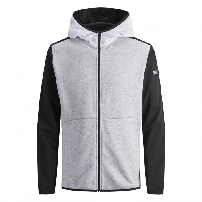 JACK JONES TRICOT SWEAT ZIP HOOD