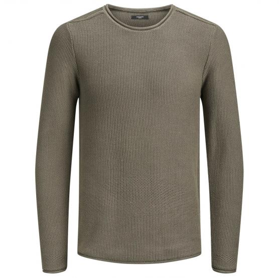 JACK JONES TURN KNIT CREW NECK