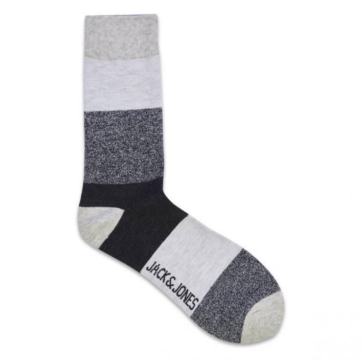 JACK JONES TWISTED BLOCK SOCK NOOS