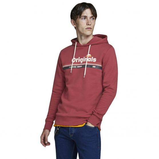 JACK JONES WILMER SWEAT HOOD STS