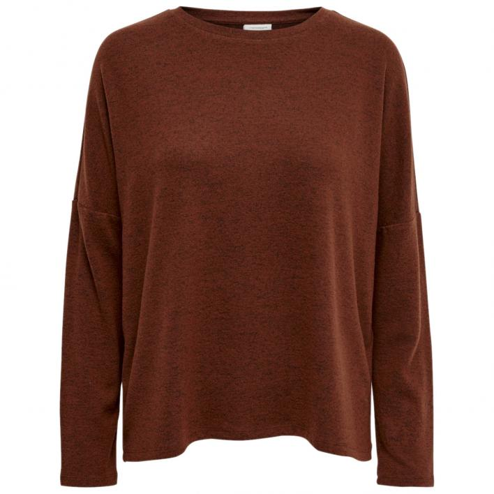 JACQUELINE DE YONG ASTA TREATS L/S O-NECK TOP JRS