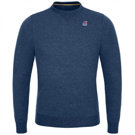 K-WAY AUGUSTINE FRENCH TERRY FLEECE PULLOVER