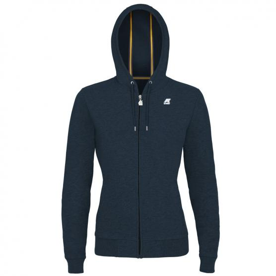 K-WAY FLEECE JACKET GAELLE FRENCH TERRY JR