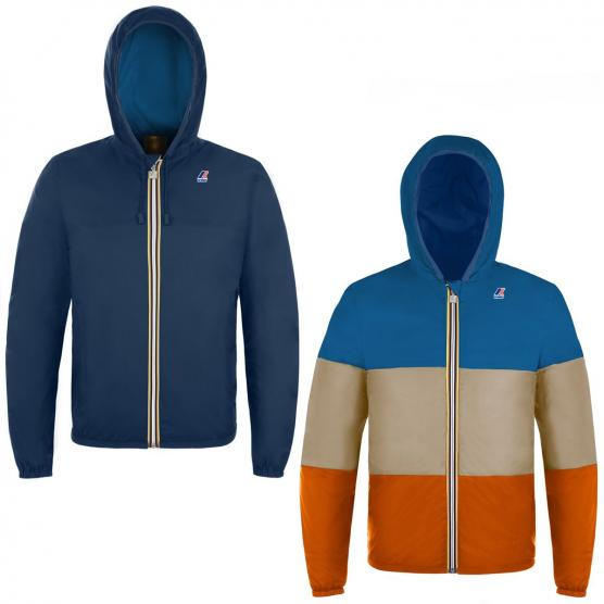 K-WAY JACQUES PLUS DOUBLE INSERTED JACKET