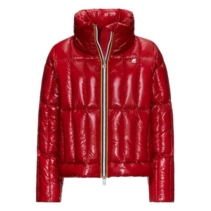 K-WAY JOSEPHINE WARM SHINY QUILTED