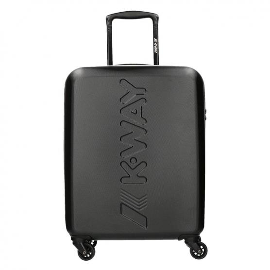 K-WAY K-AIR CABIN TROLLEY BLACK