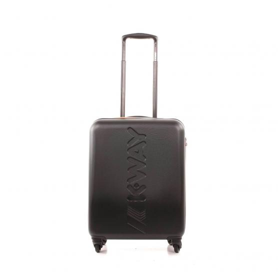 K-WAY K-AIR MEDIUM TROLLEY 64,5X46X26CM-3,3KG A2 SCHWARZ