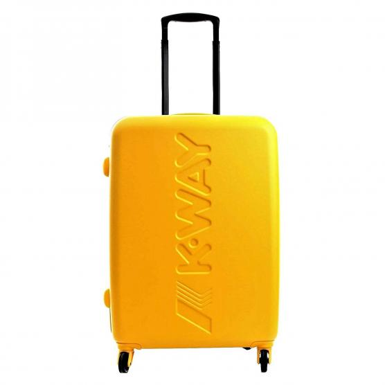 K-WAY K-AIR MEDIUM TROLLEY 64,5X46X26CM-3,3KG C0 YELLOW