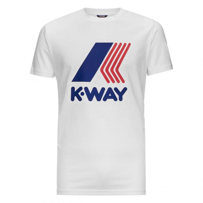 K-WAY PETE MACRO LOGO T-SHIRTS JUNIOR