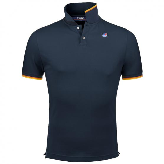 K-WAY POLO VINCENT CONTRAST K89
