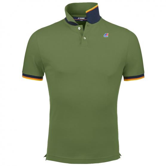K-WAY POLO VINCENT CONTRAST WIX