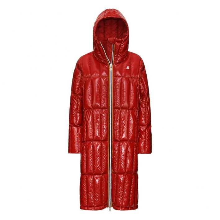 K-WAY SIDOINE WARM SHINY QUILTED