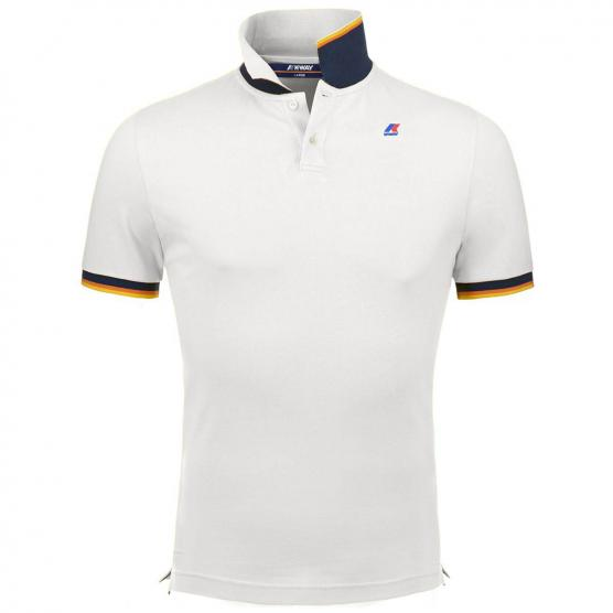 K-WAY VINCENT CONTRAST POLO SHIRTS JUNIOR