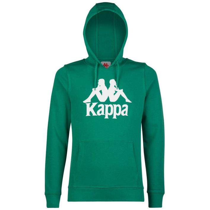 KAPPA FELPA C/CAPPUCCIO AUTHENTIC ZIMIM