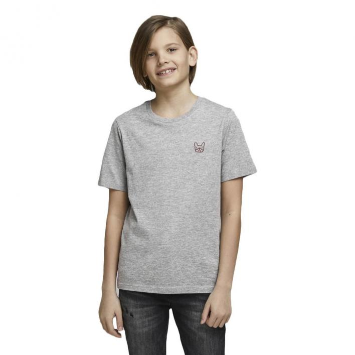 JACK JONES KIDS DENIM LOGO TEE SS O-NECK JR