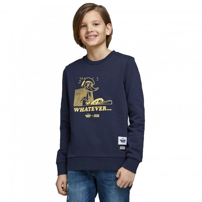 KIDS JACK JONES DONALDDUCK SWEAT CREW NECK JR